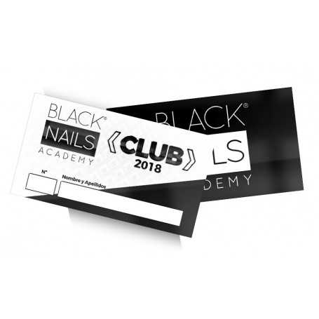 Club Black Nails