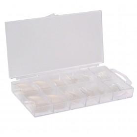 Caja de Tips Transparentes - 500uds