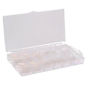 Caja de Tips Transparentes - 100uds